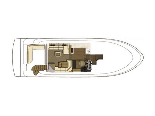 2020 Sea Ray boat for sale, model of the boat is Fly 510 & Image # 7 of 23