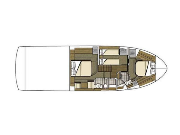 2020 Sea Ray boat for sale, model of the boat is Fly 510 & Image # 10 of 23