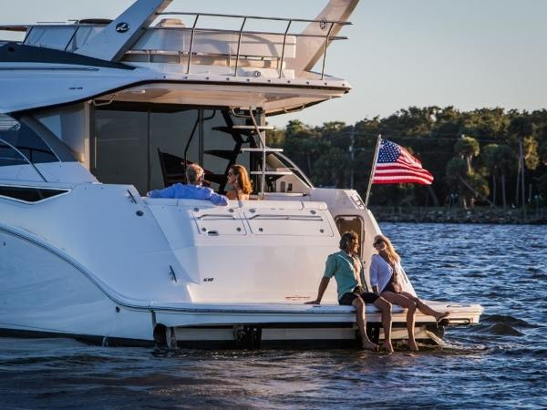2020 Sea Ray boat for sale, model of the boat is Fly 510 & Image # 17 of 23