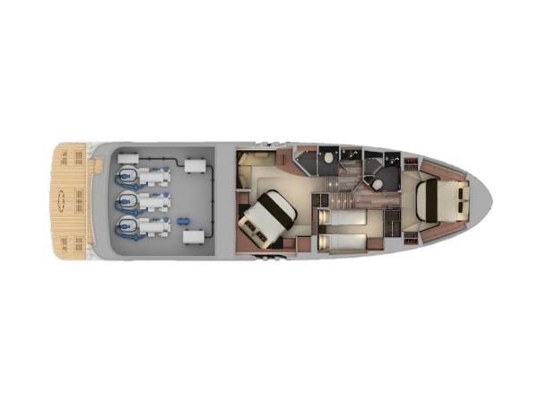 2020 Sea Ray boat for sale, model of the boat is L590 & Image # 33 of 52