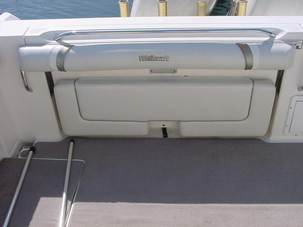 Fold Down Aft Bench Seat