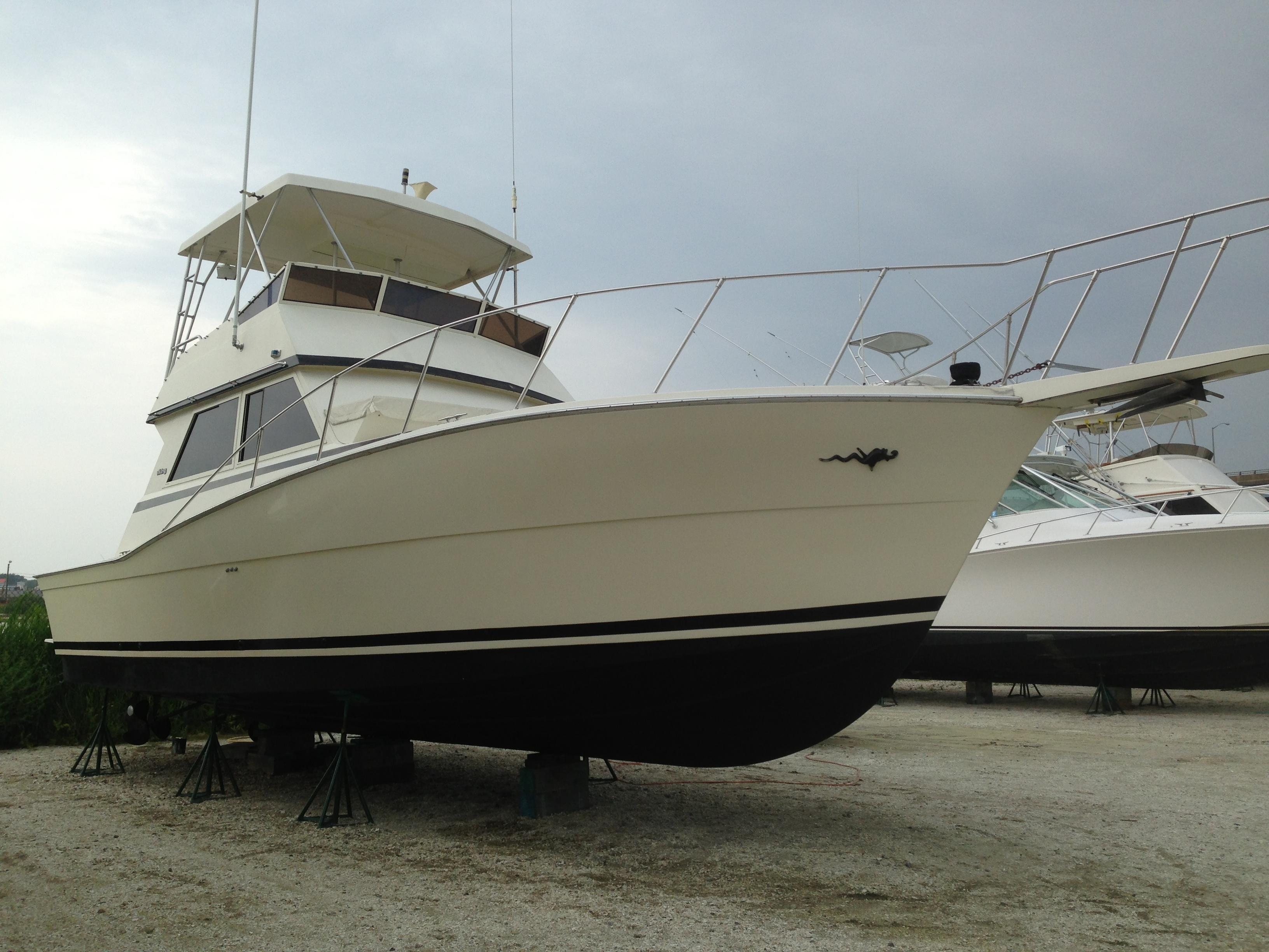 1986 viking yachts 41 convt for sale for Viking sport fish