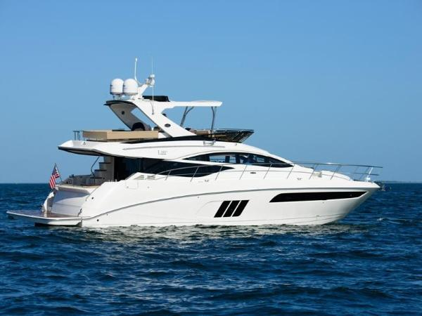 2020 Sea Ray boat for sale, model of the boat is L590 Fly & Image # 39 of 66