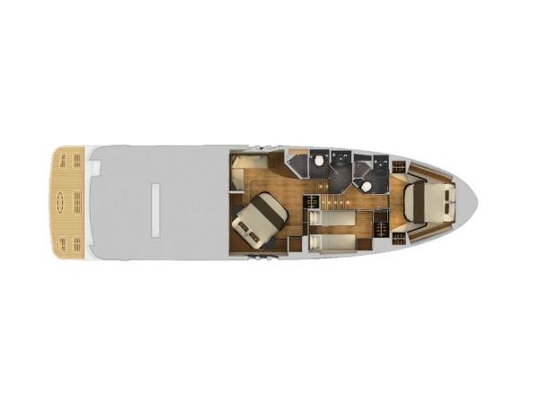 2020 Sea Ray boat for sale, model of the boat is L590 Fly & Image # 60 of 66