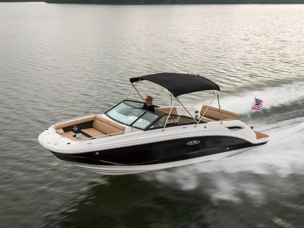 2020 Sea Ray boat for sale, model of the boat is SDX 250 & Image # 2 of 19