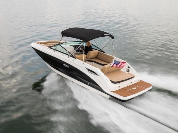 2020 Sea Ray boat for sale, model of the boat is SDX 250 & Image # 3 of 19