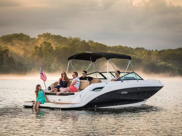 2020 Sea Ray boat for sale, model of the boat is SDX 250 & Image # 8 of 19