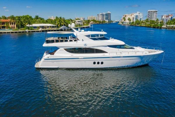 2013 80' Hatteras Motor Yacht
