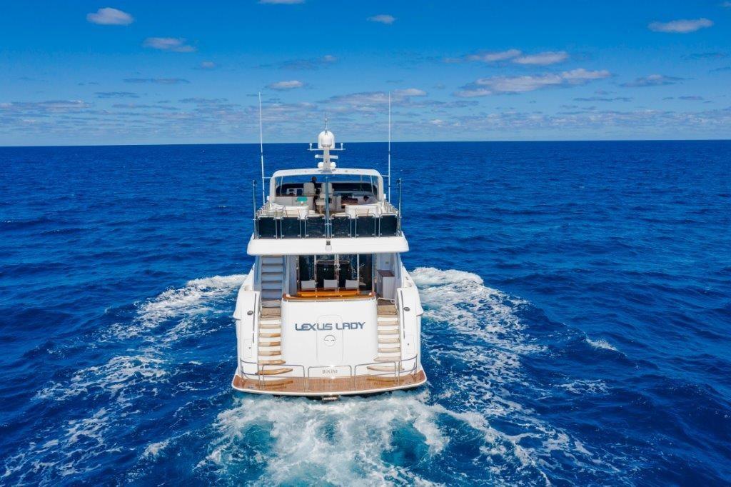 Stern at Sea