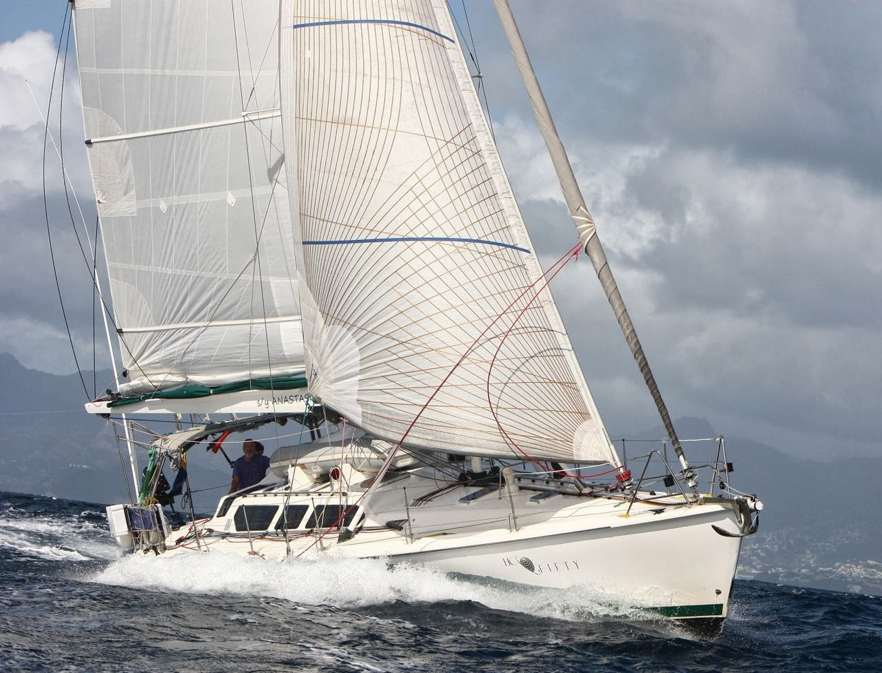 53' Hunter 2001