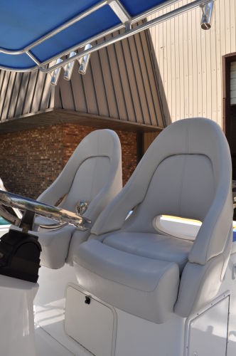 Helm Seating W/Flip-up Bolsters