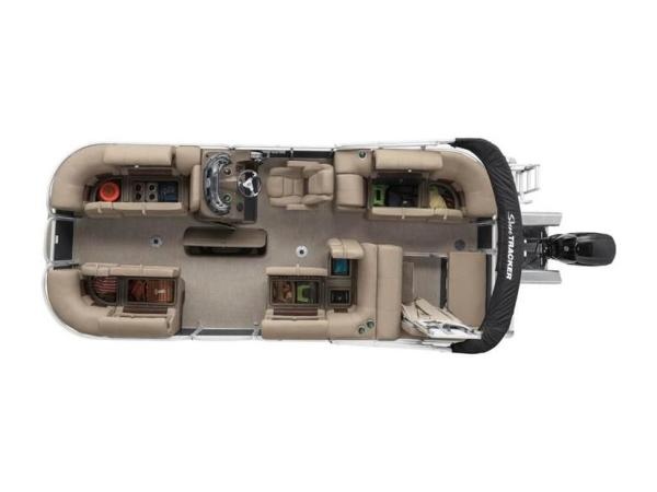 2020 Sun Tracker boat for sale, model of the boat is PARTY BARGE® 22 RF XP3 & Image # 3 of 63