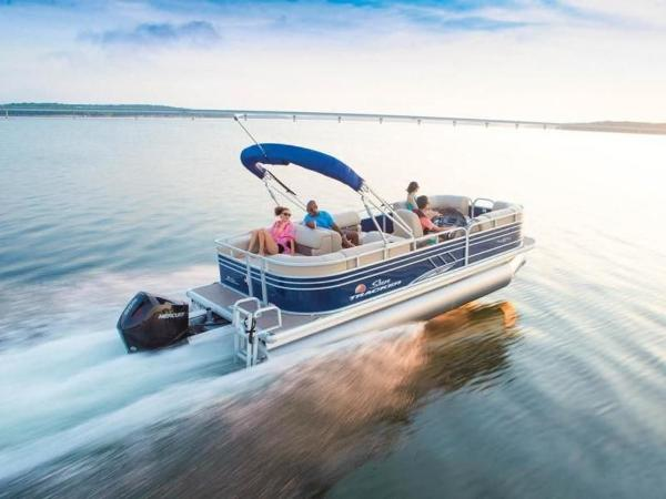 2020 Sun Tracker boat for sale, model of the boat is PARTY BARGE® 22 RF XP3 & Image # 8 of 63