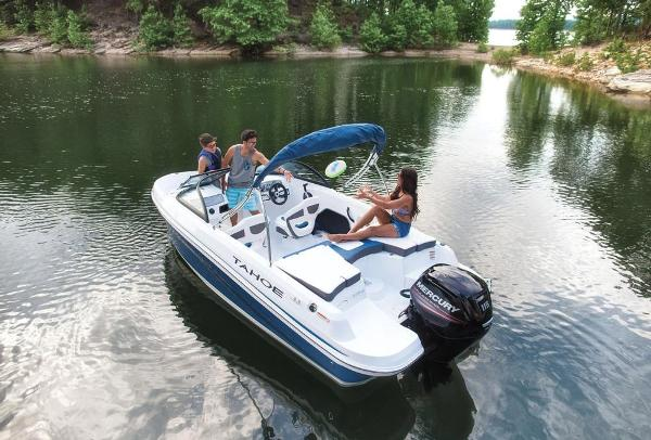 2019 Tahoe boat for sale, model of the boat is 450 TS & Image # 4 of 29