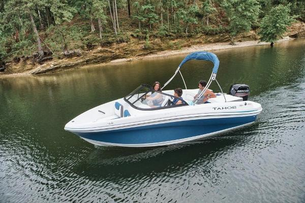 2019 Tahoe boat for sale, model of the boat is 450 TS & Image # 8 of 29