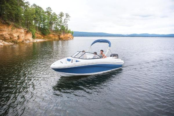 2019 Tahoe boat for sale, model of the boat is 450 TS & Image # 11 of 29