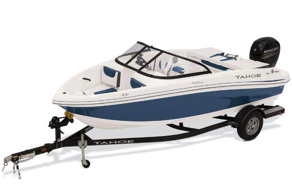 2019 Tahoe boat for sale, model of the boat is 450 TS & Image # 1 of 29
