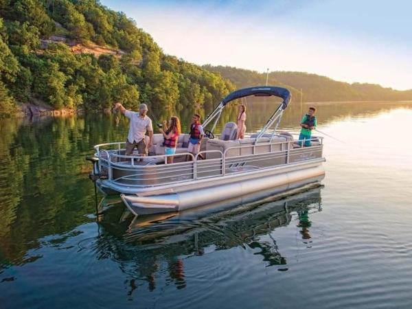 2020 Sun Tracker boat for sale, model of the boat is FISHIN' BARGE® 22 XP3 & Image # 6 of 64