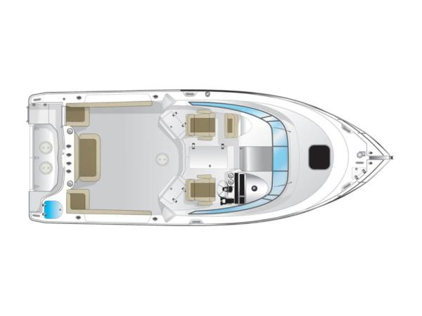 2020 Sailfish boat for sale, model of the boat is 270 WAC & Image # 5 of 8
