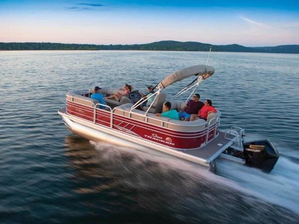 2020 Sun Tracker boat for sale, model of the boat is PARTY BARGE® 22 XP3 & Image # 8 of 58