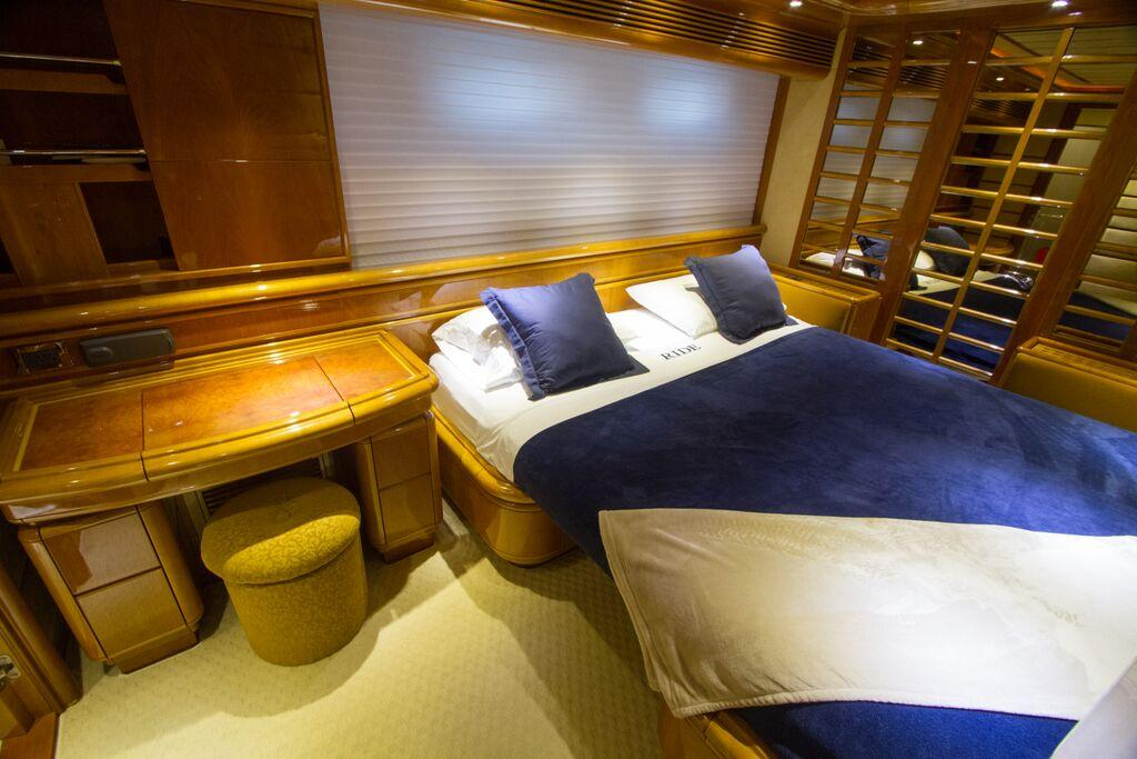 Portside Guest Stateroom Converts to King Size Bed