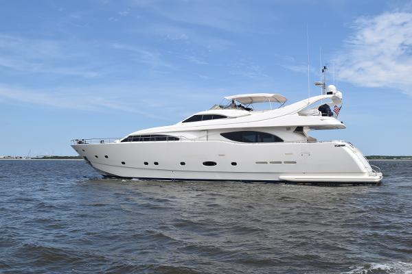 2003 94' Ferretti Yachts 94 Custom Line
