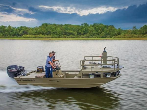2020 TRACKER BOATS GRIZZLY® 2072 CC SPORTSMAN KICKER for sale