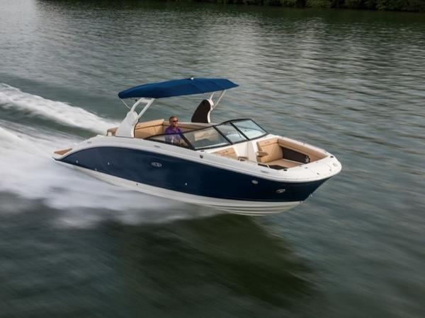 2020 Sea Ray boat for sale, model of the boat is SDX 270 & Image # 2 of 21