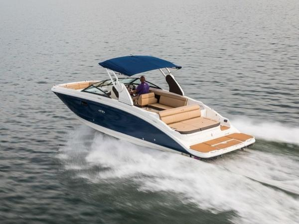 2020 Sea Ray boat for sale, model of the boat is SDX 270 & Image # 3 of 21