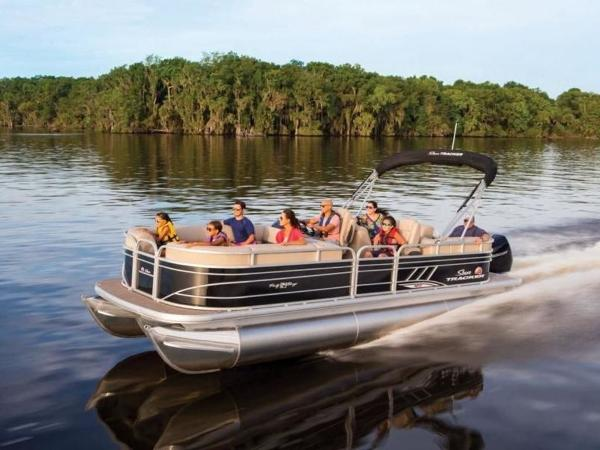 2020 Sun Tracker boat for sale, model of the boat is PARTY BARGE® 24 XP3 & Image # 1 of 60