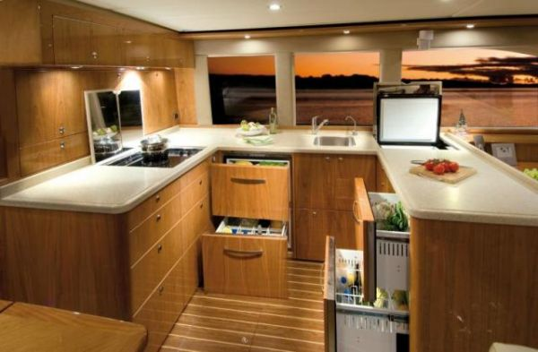 Galley - Cabinets Open