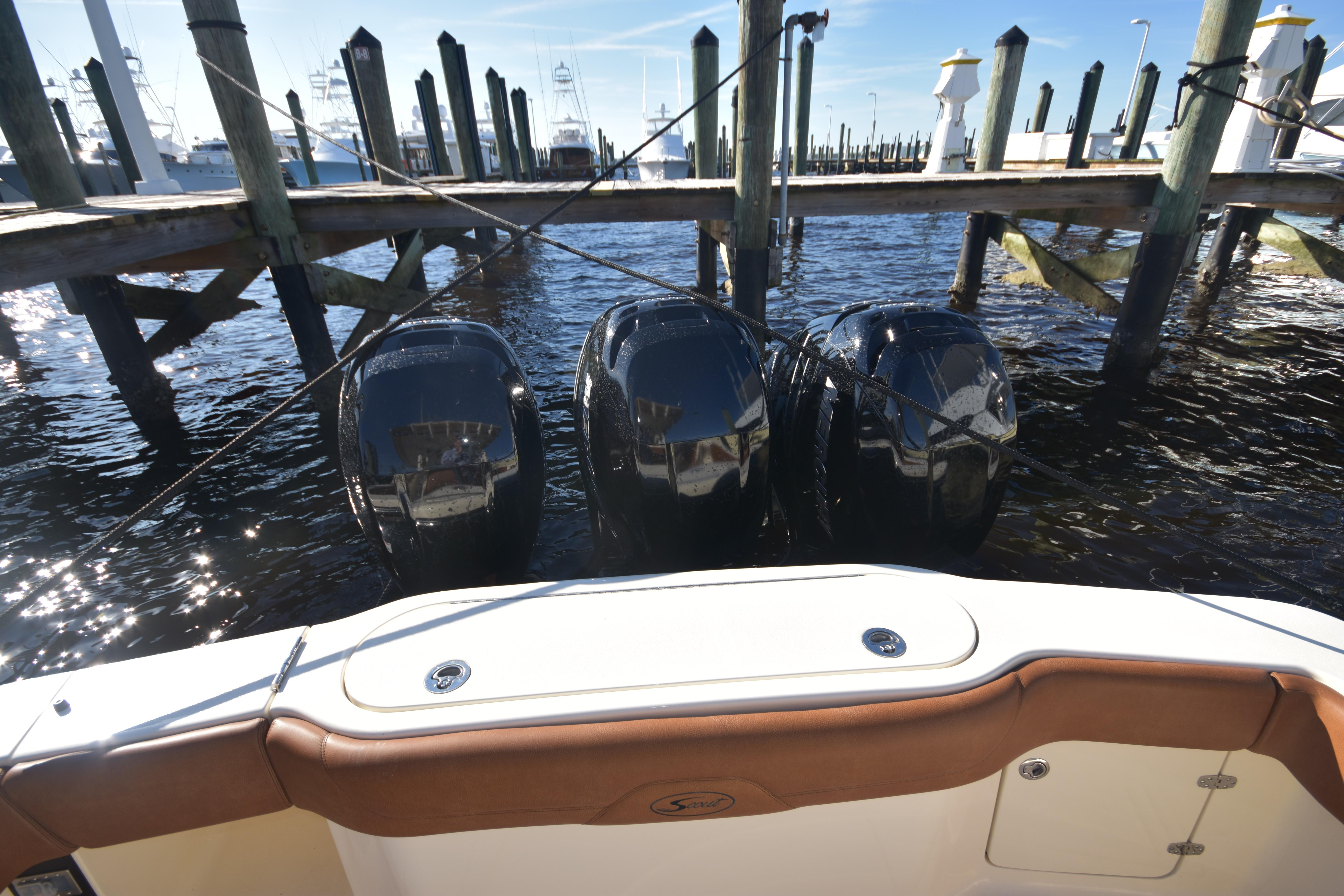2017 Scout 350 XLF Aft and Engines