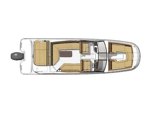 2020 Sea Ray boat for sale, model of the boat is SDX 270 OB & Image # 5 of 16