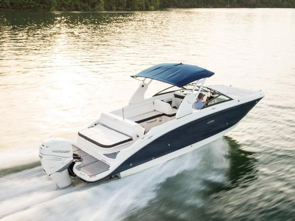 2020 Sea Ray boat for sale, model of the boat is SDX 270 OB & Image # 10 of 16