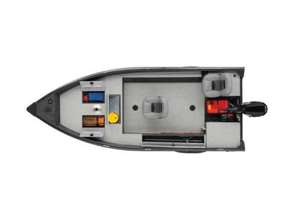 2020 Tracker Boats boat for sale, model of the boat is Guide V-16 Laker DLX T & Image # 20 of 32