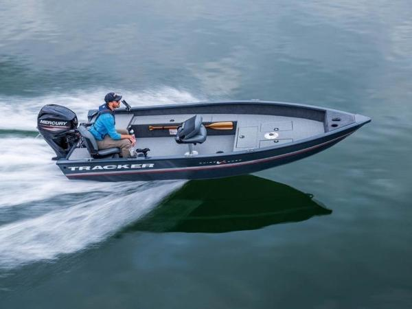 2020 Tracker Boats boat for sale, model of the boat is Guide V-16 Laker DLX T & Image # 29 of 32