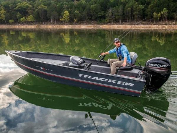 2020 Tracker Boats boat for sale, model of the boat is Guide V-16 Laker DLX T & Image # 32 of 32