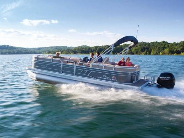 2020 Sun Tracker boat for sale, model of the boat is PARTY BARGE® 24 DLX & Image # 46 of 59