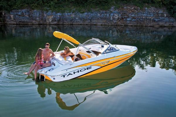 2013 Tahoe boat for sale, model of the boat is Q4i w/ 3.0 MPI 135HP ECT and Trailer & Image # 2 of 38