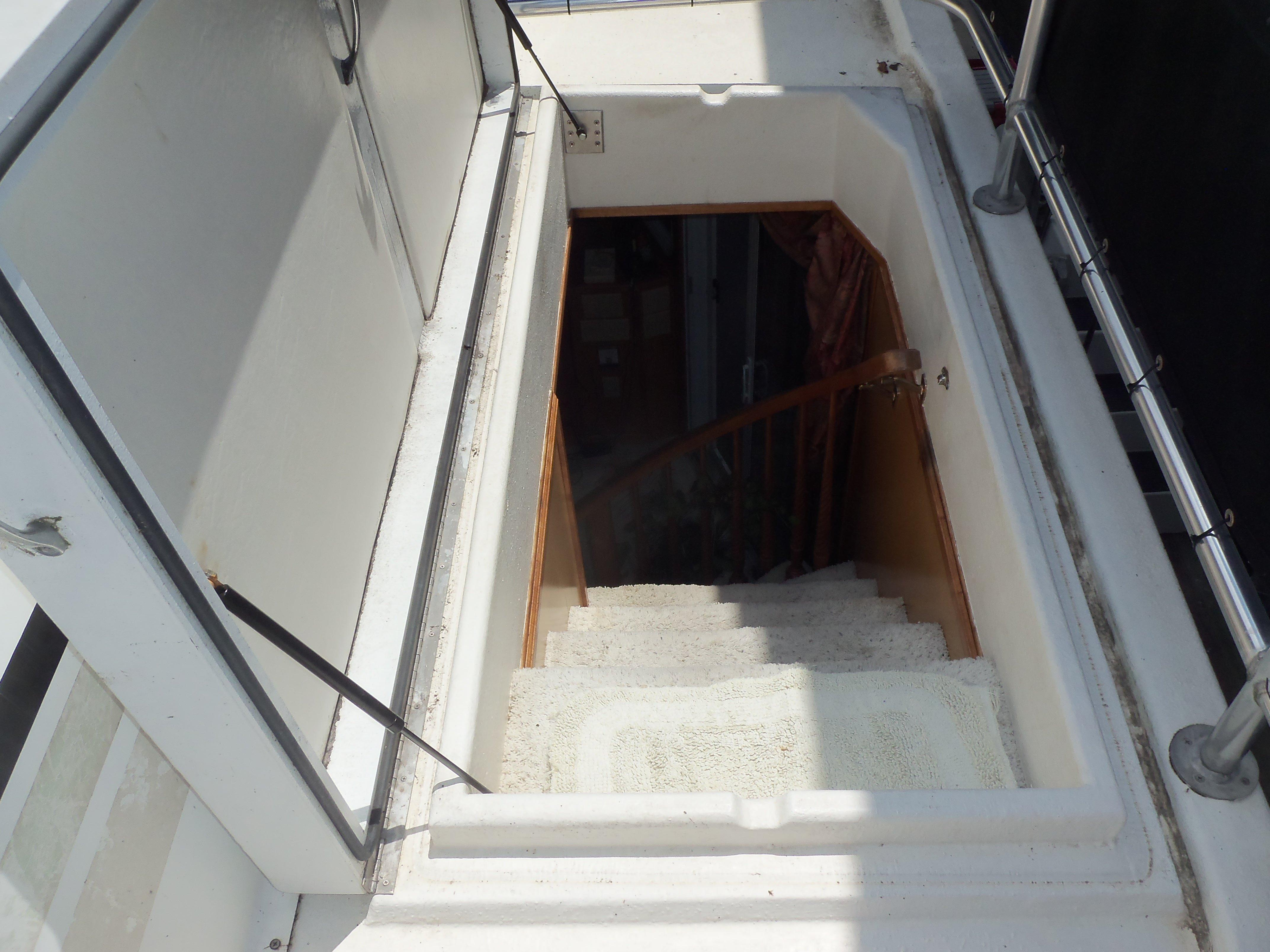 Forward Stairway from Upper Deck to Cabin
