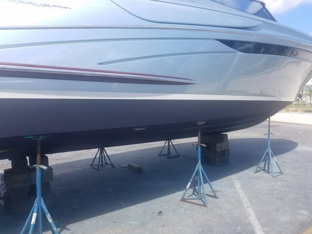 2014 44' Riva Complete Bottom Job (September 2018)