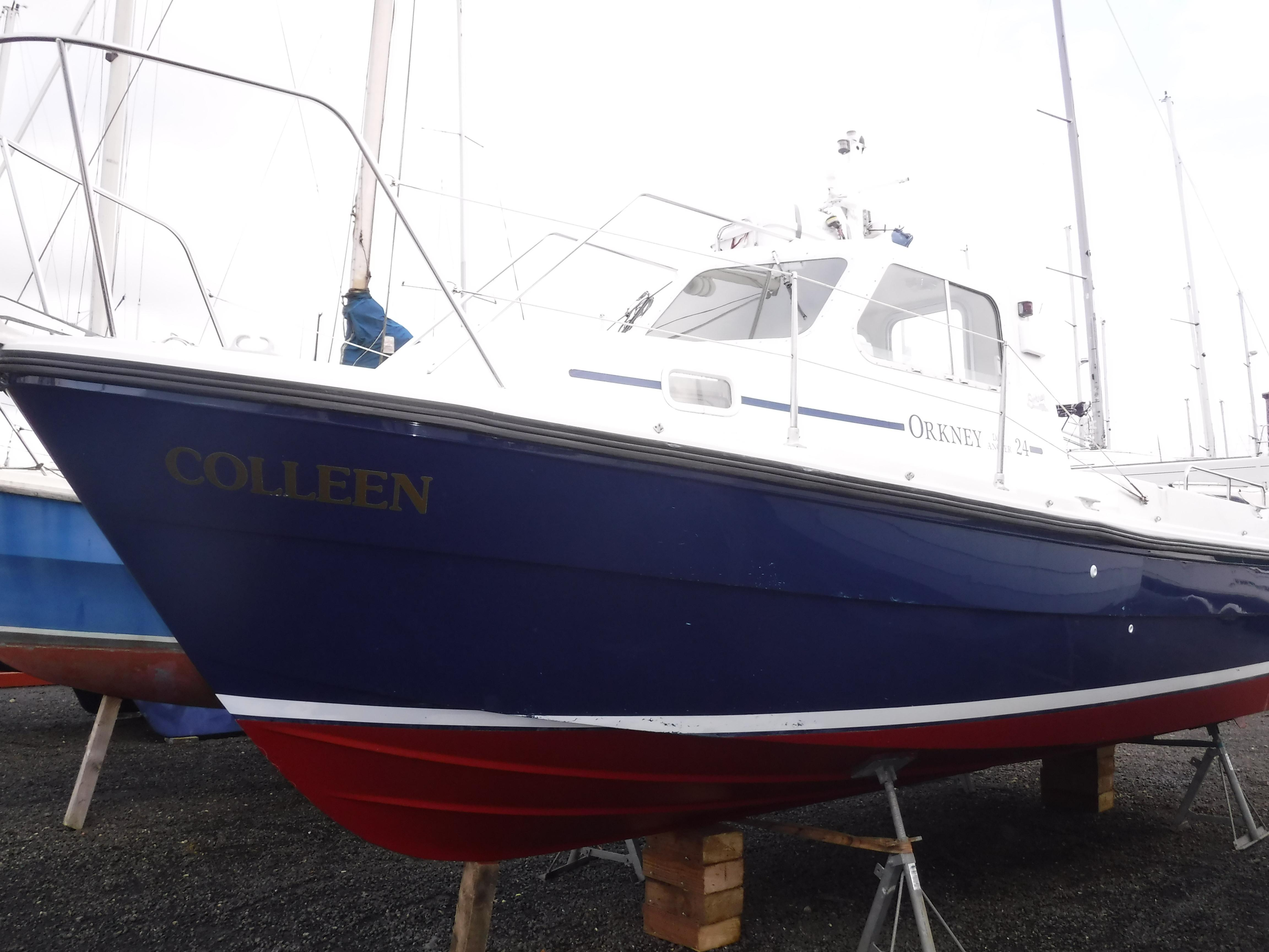 Orkney Boats Day Angler 24