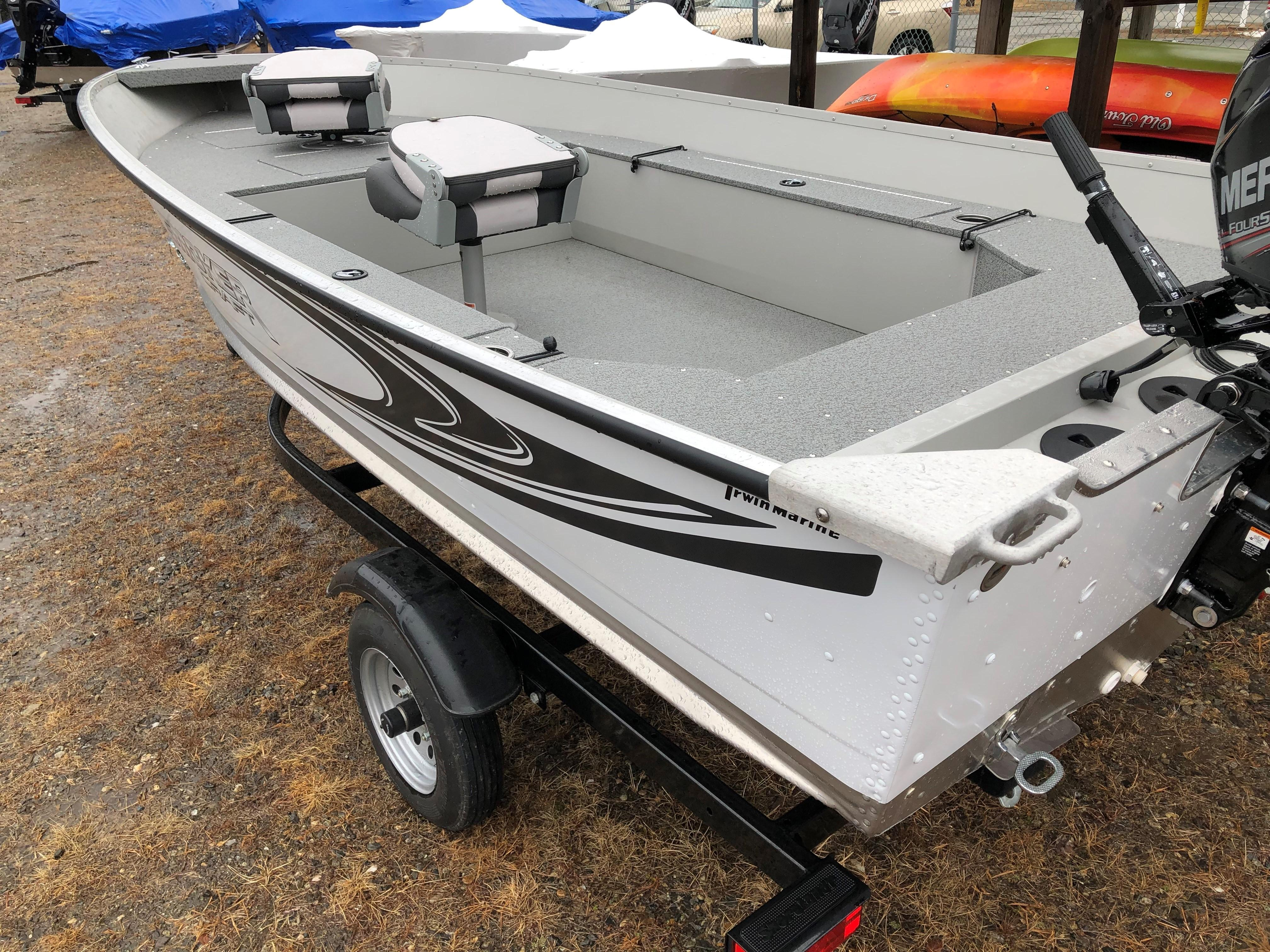 2018 Smoker Craft boat for sale, model of the boat is Angler 14TL & Image # 3 of 17