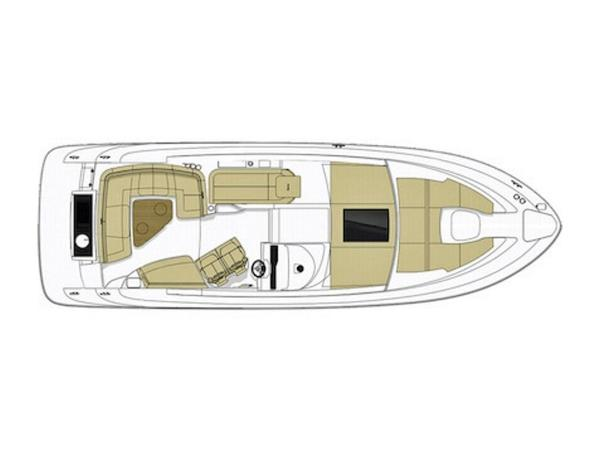 2020 Sea Ray boat for sale, model of the boat is Sundancer 350 Coupe & Image # 3 of 27