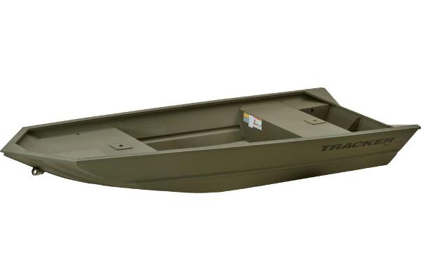 2013 Tracker Boats boat for sale, model of the boat is Grizzly 1448 Jon & Image # 3 of 7