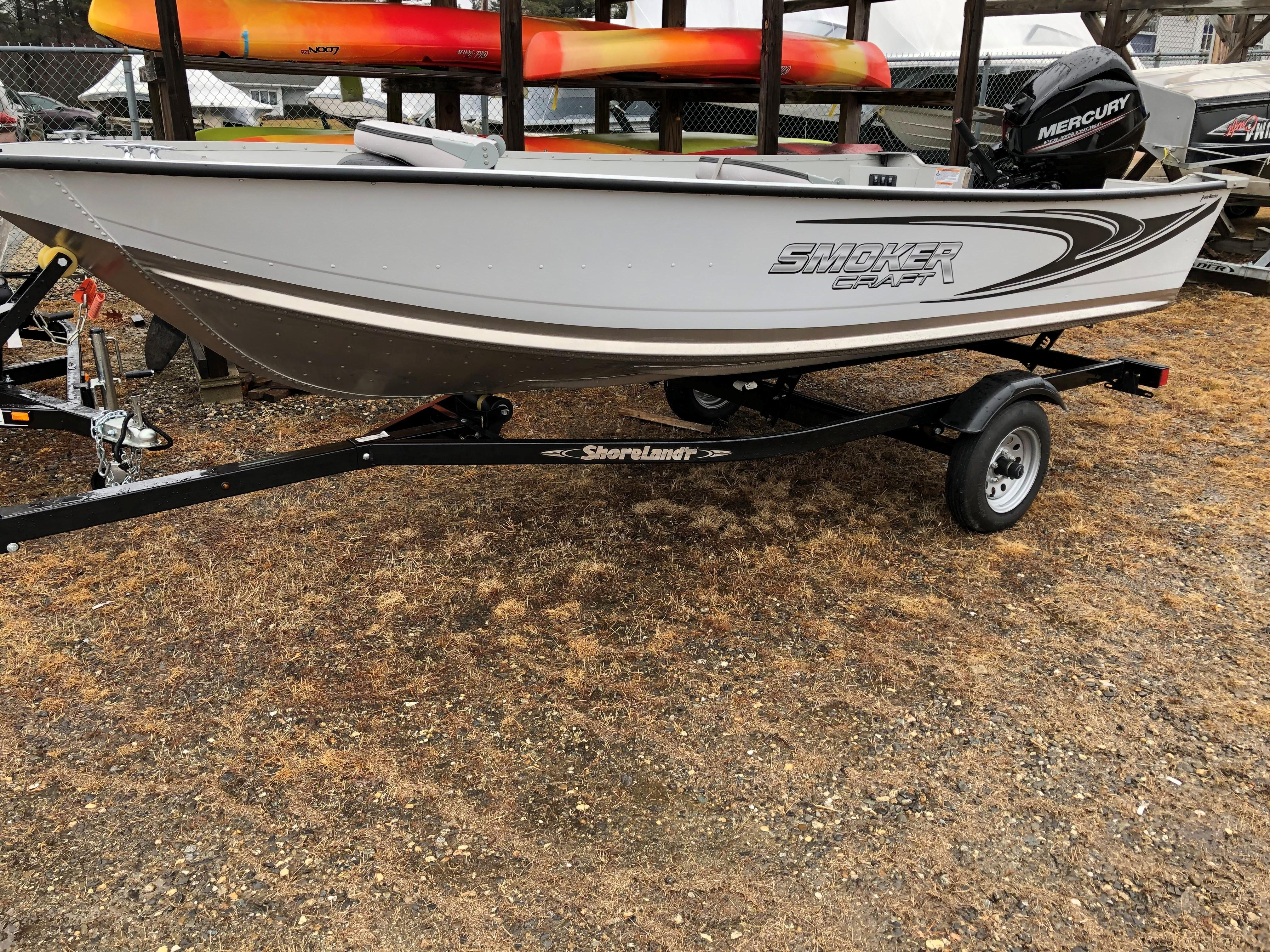2018 Smoker Craft boat for sale, model of the boat is Angler 14TL & Image # 2 of 17