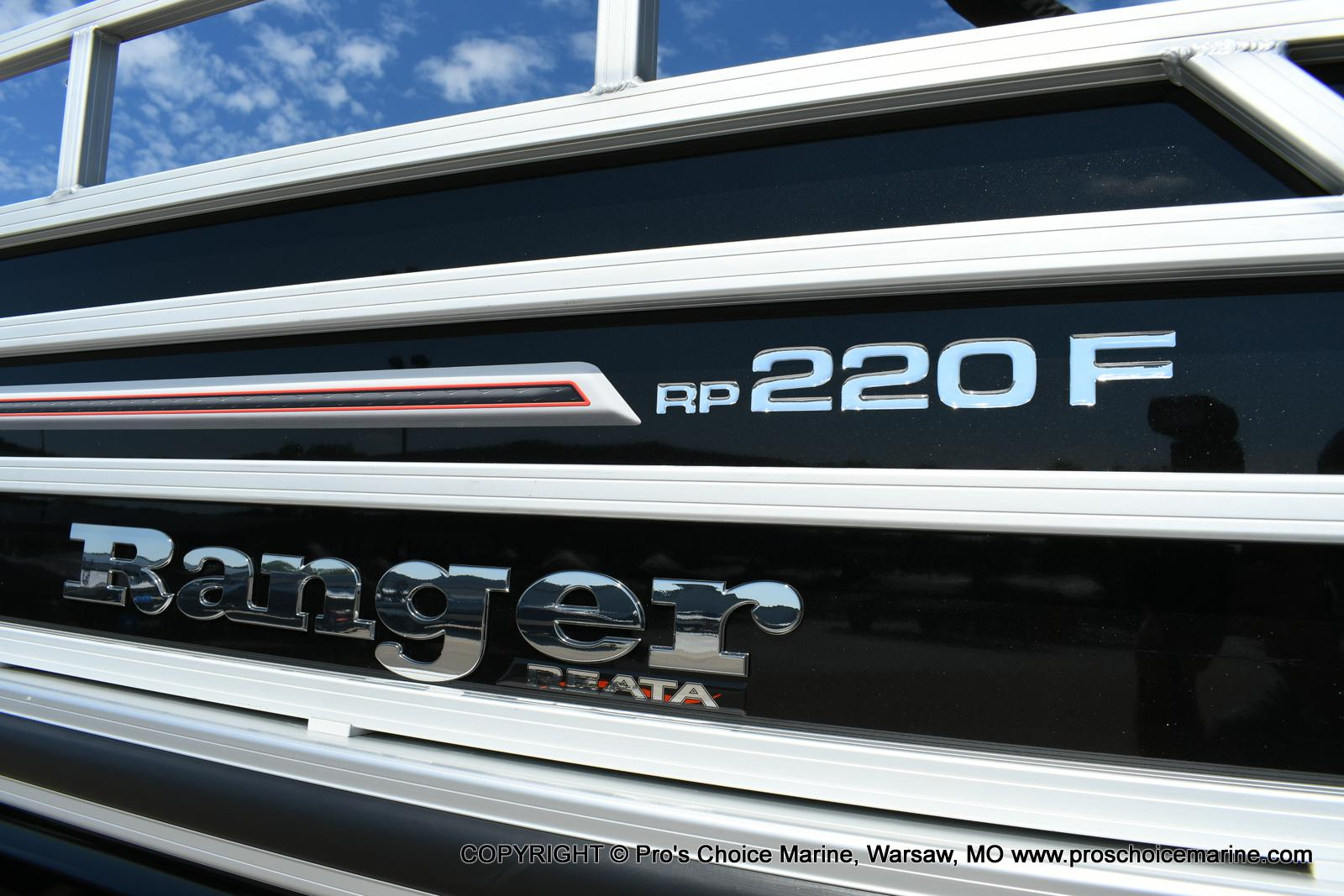 2020 Ranger Boats boat for sale, model of the boat is 220F & Image # 2 of 50