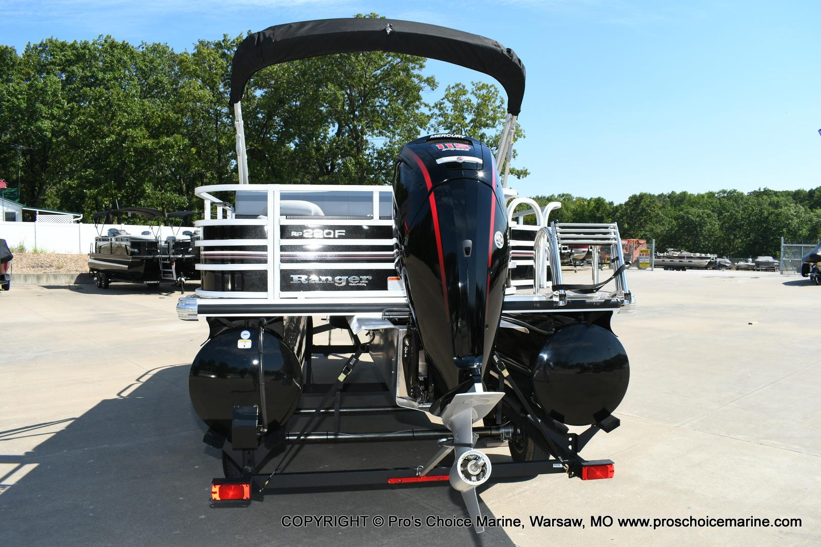2020 Ranger Boats boat for sale, model of the boat is 220F & Image # 40 of 50