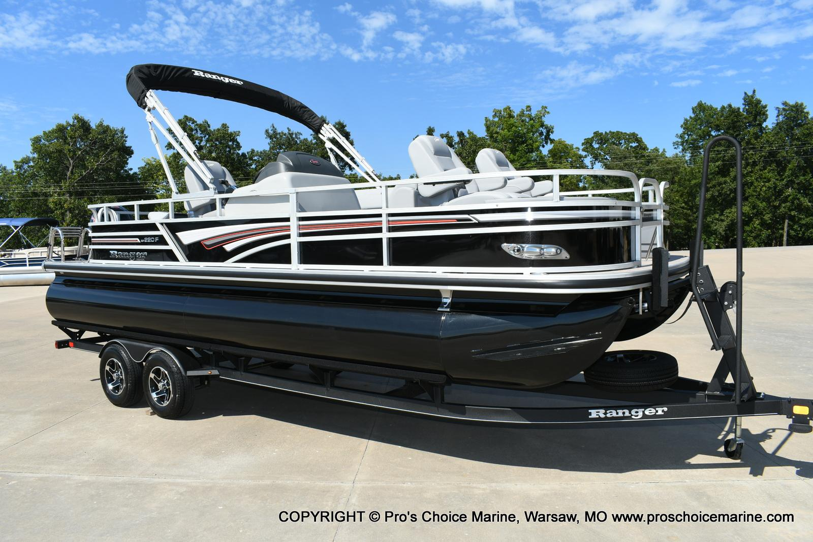 2020 Ranger Boats boat for sale, model of the boat is 220F & Image # 48 of 50
