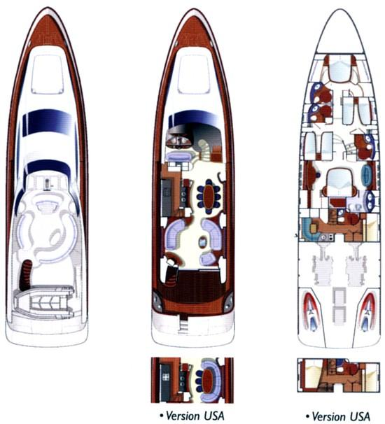 Azimut 80 - Layout Plan